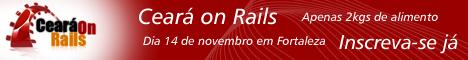 Ceará on Rails - Inscreva-se